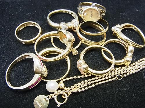 刻印無しの指輪やネックレス
