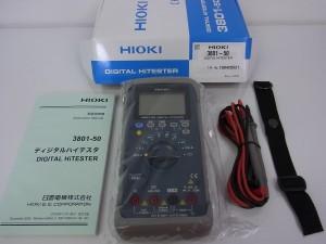 デジタルハイテスタ買取 HIOKI 3801-50